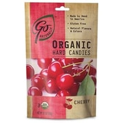 GoNaturally Organic Hard Candy Cherry, 3.5 oz. Bag, 6 Bags/Box