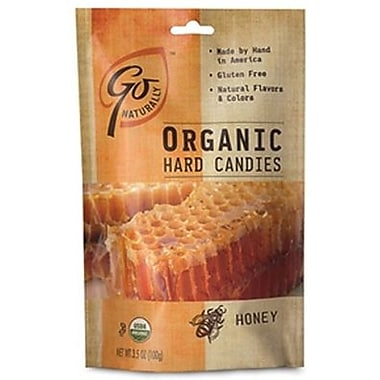 GoNaturally Organic Hard Candy Honey, 3.5 oz. Bag, 6 Bags/Box