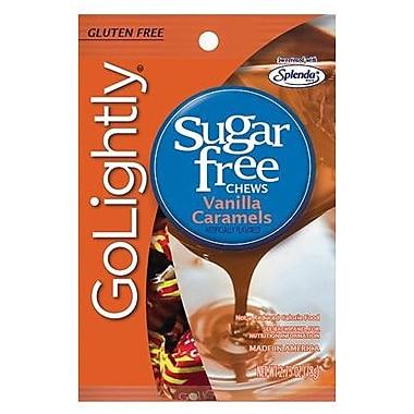 GoLightly Vanilla Hard Candy, 2.75 oz. Peg Bag, 12 Peg Bags/Box