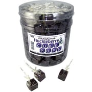 Huckleberry Cube Pops, .8 oz., 100 Lollipops/Tub