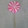 Pink and White Pinwheel Pops, 2.5 oz., 12 Lollipops/Box