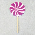 Purple and White Pinwheel Pops, 2.5 oz., 12 Lollipops/Box