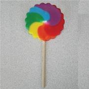 Primary Pinwheel Pops, 2.5 oz., 12 Lollipops/Box