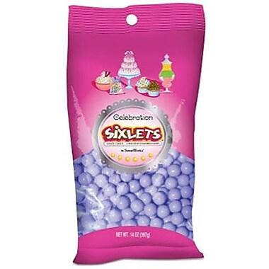 Sixlets Lavender, 14 oz. Bag