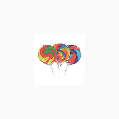 Mini Lolli Pops, .75 oz., 24 Lollipops/Box