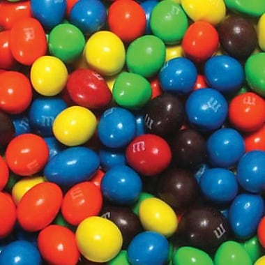 M&M's Peanut Candies, 3.5 lb. Bulk