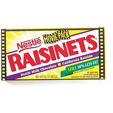 Raisinets, 3.8 oz. Theater Box, 18 Boxes