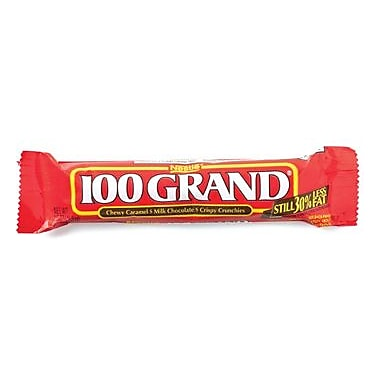 100 Grand Bar, 1.5 oz. Bars, 36 Bars/Box