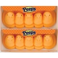 Peeps Chicks Orange, 3 oz. Tray