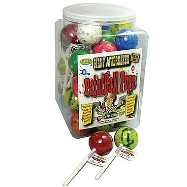 Paintball Pops 2.3 oz.,36 Lollipops/Box