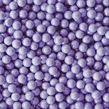 Candy Pearls Shimmer Lavender, 10 lb. Bulk