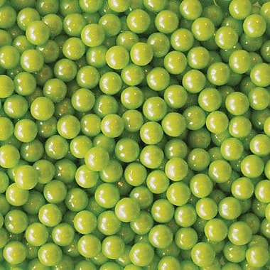 Candy Pearl Shimmer Lime Green, 10 lb. Bulk