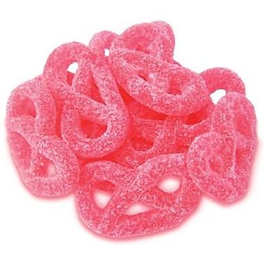 Raspberry Jelly Pretzels, 2.2 lb. Bulk