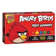 Angry Birds Gummy Candy - Red, 3.5 oz. Theater Box., 12 Boxes
