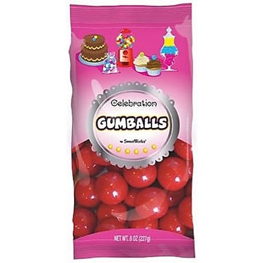 Red Gumballs, 8 oz. Bag