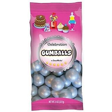 Silver Gumballs, 8 oz. Bag