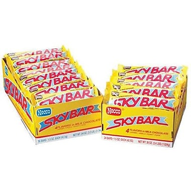 Sky Bar, 1.5 oz. Bars, 24 Bars/Box