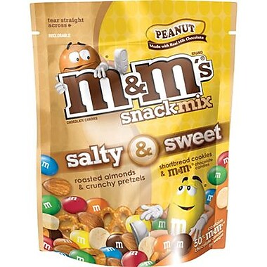 M&M's Snack Mix Peanut, 8 oz. Bag