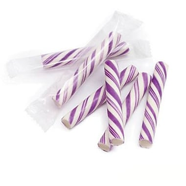Sticklettes Purple White, 250 Pieces/Box