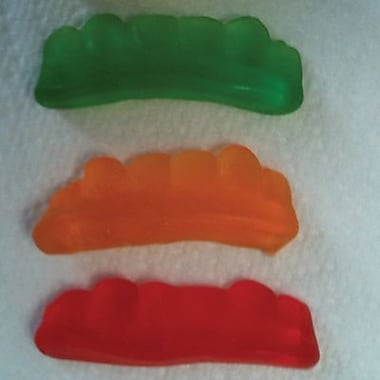 Teeth Gummies, 5 lb. Bulk