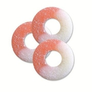 Watermelon Gummi Rings, 4.5 lb. Bulk