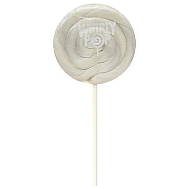 Whirly Pop Pearly White 1.5. oz., 24 Lollipops/Box