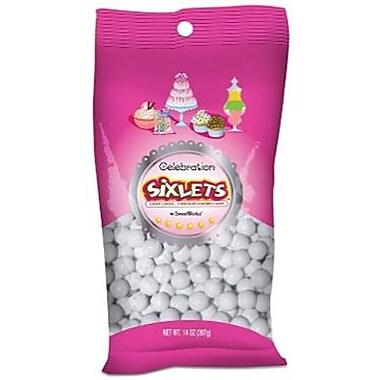 Sixlets White, 14 oz. Bag