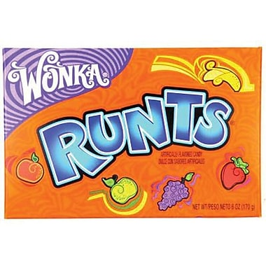 Wonka Fruit Runts, 5 oz. Theater Box, 12 Box/Case
