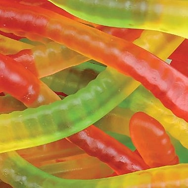 Squiggles Gummi Worms, 5 lb. Bulk