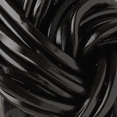 Black Licorice Laces, 2 lb. Bulk
