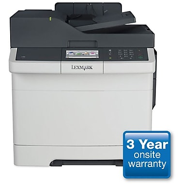 Lexmark CX410de Color Laser All-in-One Printer plus 3-year Onsite Warranty