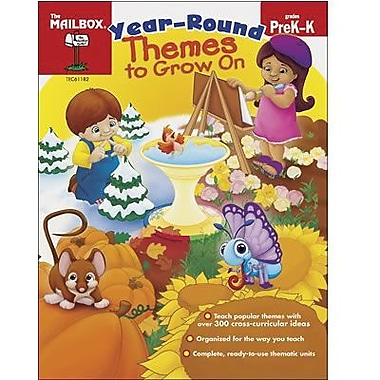 The Mailbox Books® Year-Round Themes To Grow On Book, Grades pre-kindergarten - Kindergarten