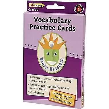Edupress® Brain Blasters Vocabulary Practice Card, Grades 2nd