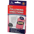 Edupress® Reading Comprehension Practice Card, Following Directions, Reading Level 3.5 - 5.0