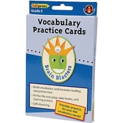 Edupress® Brain Blasters Vocabulary Practice Card, Grades 5th