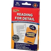 Edupress® Reading Comprehension Practice Card, Reading For Detail, Reading Level 3.5 - 5.0
