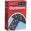 Pressman® Toy Early Learning Game, Double Six Wooden Dominoes