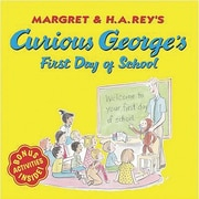 American Heritage Curious George's First Day of School Book By Hans Rey, Grades Kindergarten - 3rd