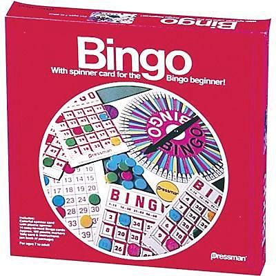 Pressman Toy Toy Classic Game, Bingo 836795