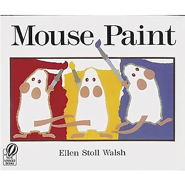 Houghton Mifflin® Harcourt Mouse Paint Book By Ellen Walsh, Grades pre-school - Kindergarten