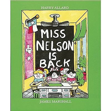 American Heritage Miss Nelson is Back Book By Harry Allard, Grades Kindergarten - 3rd