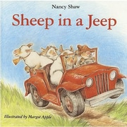 American Heritage Sheep In a Jeep Classroom Favorite Book By Nancy Shaw, Grades 1st - 2nd