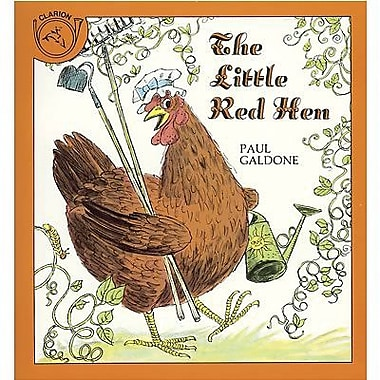 American Heritage The Little Red Hen Book By Paul Galdone, Grades Kindergarten - 3rd