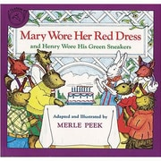 American Heritage Character Mary Wore Her Red Dress Book By Merle Peek, Grades pre-school - 12th