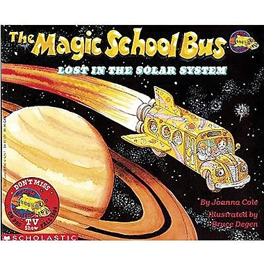 Scholastic The Magic School Bus Lost In The Solar System Book By Joanna Cole, Grades pre-school-3rd