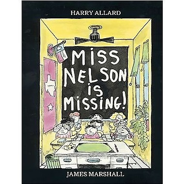 American Heritage Miss NelsonIs Missing Book By Harry Allard, Grades Kindergarten - 3rd