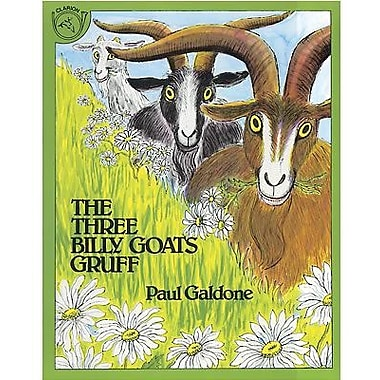 American Heritage The Three Billy Goats Gruff Children's Book By Paul Galdone, Grades K-3rd