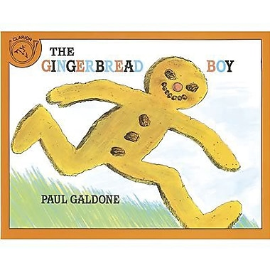 American Heritage The Gingerbread Boy Classic Children's Book By Paul Galdone, Grades K-3rd