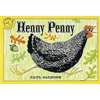American Heritage Henny Penny Classic Children's Book By Paul Galdone, Grades Kindergarten - 3rd