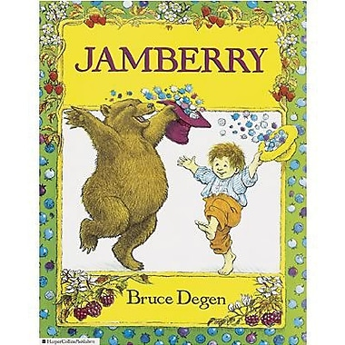 Harper Collins Jamberry Classic Children's Book By Bruce Degen, Grades Pre School - 3rd